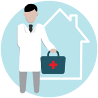 If you would like to see a doctor at home, you can book an appointment through us at very affordable prices.